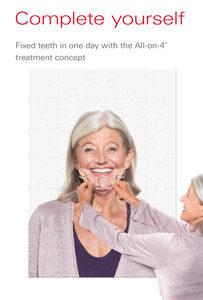 dental implant brochure.